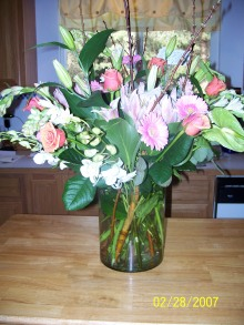 flowers from rosie and kelli